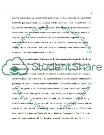 Effective Leadership and Education: Understanding the Dimensions of Leadership in School Systems essay example