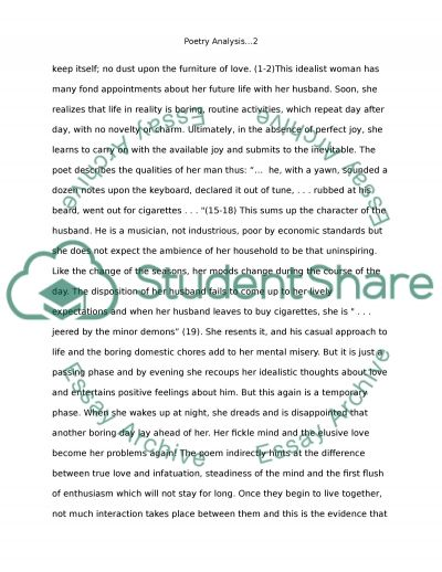 Wind Power Essay Poetry Analysis Comparison Of Two Poems Living In Sin And Reapers Writing A Narrative Essay Examples also Essay About Educational Goals Poetry Analysis Comparison Of Two Poems Living In Sin And Reapers  Essay About Education Is The Key To Success