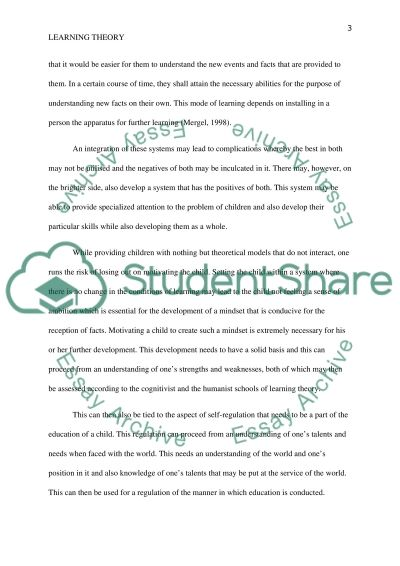 Education and its Methods essay example