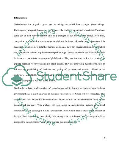 3,000-word individual report