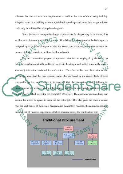Construction Practice essay example