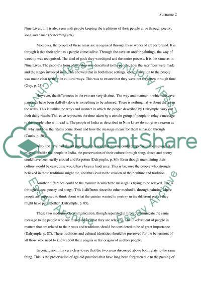 Chauvet Cave essay example