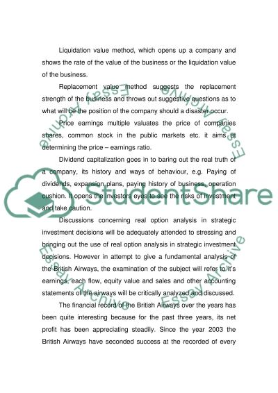 Orporate finance Essay essay example