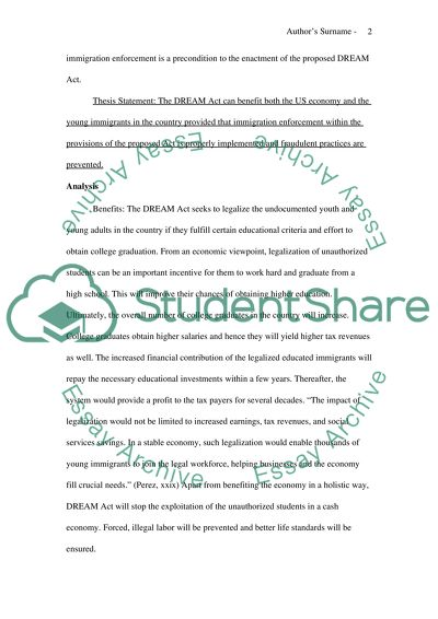 English As A Global Language Essay Proposal On The Dream Act Romeo And Juliet Essay Thesis also Health Issues Essay Proposal On The Dream Act Essay Example  Topics And Well Written  Science And Literature Essay