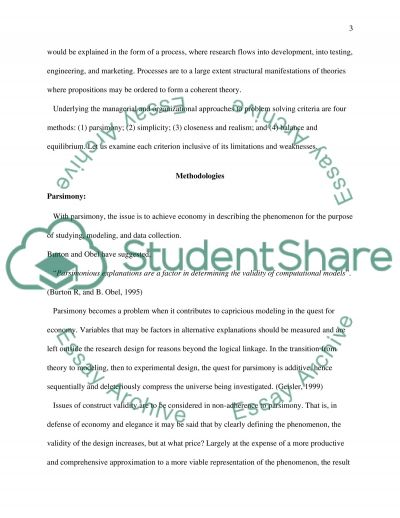 Sociological Systems Theory essay example