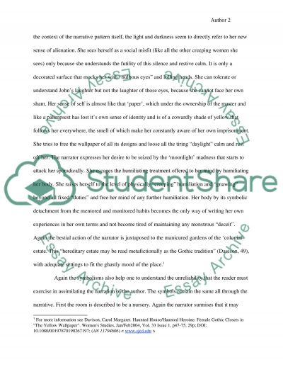 Self Reflection Essay Sample The Yellow Wallpaper Essay Essay On Childhood also Essay On Nursing The Yellow Wallpaper Essay Example  Topics And Well Written Essays  Essay Media