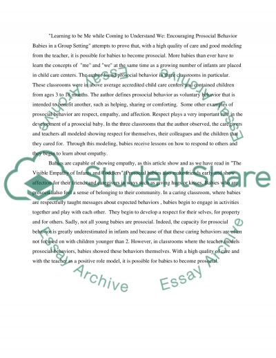 essay on behavior student behavior