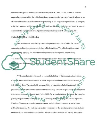 Ethics Essay Example | Topics and Well Written Essays - 750