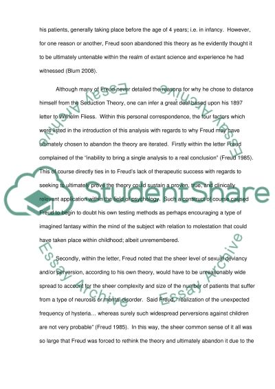 First case study assignment essay example
