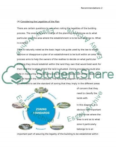 Building Construction essay example