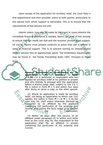 Family Law Degree Essay essay example
