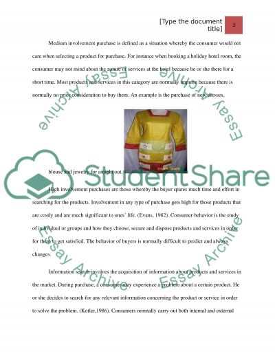 Information Searches essay example