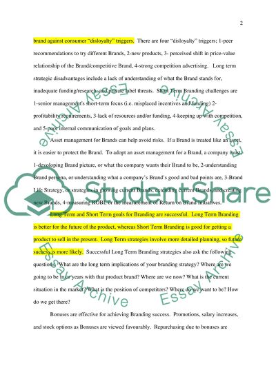 brand loyalty essay example  topics and well written essays    words brand loyalty