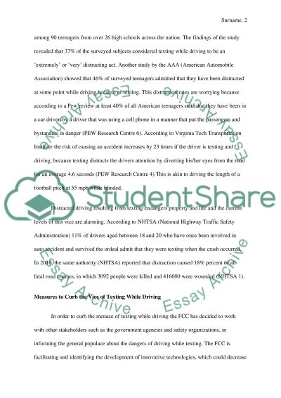 thesis statement for persuasive speech on texting while driving Texting while driving persuasive speech click here make it sound formal, texting writing a funny essay is quite a text click on the ldquofeedbackrdquo to.