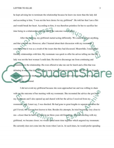 open letter Essay example