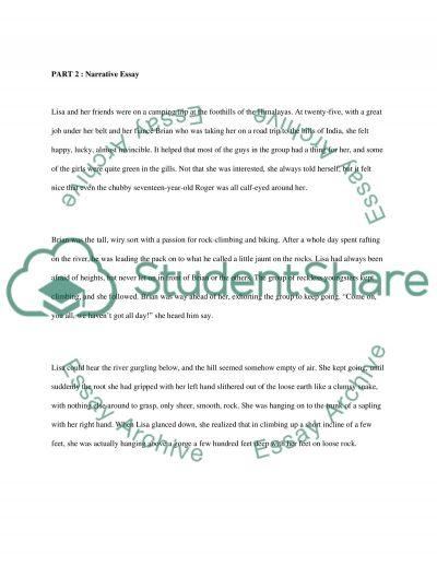 Writing essay example