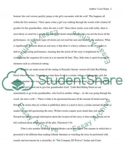Literature Adaptations essay example