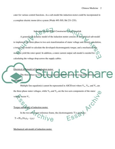 Modelling and Simulation of engineering systems Essay