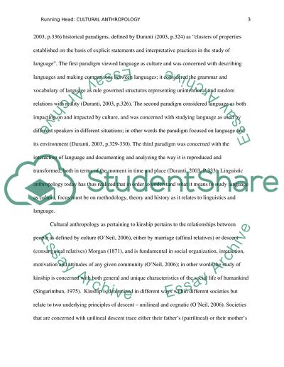 essay on culture and society
