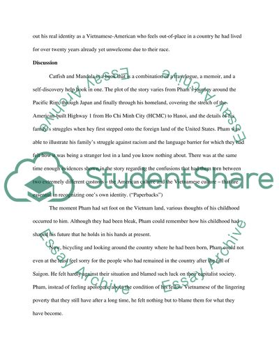 Catfish and Mandala Essay Example | Topics and Well Written