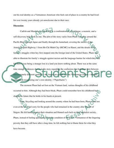 Catfish And Mandala Essay Example  Topics And Well Written Essays  Catfish And Mandala