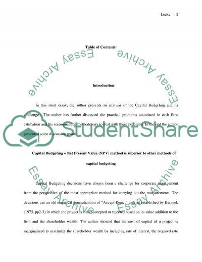 See details below essay example