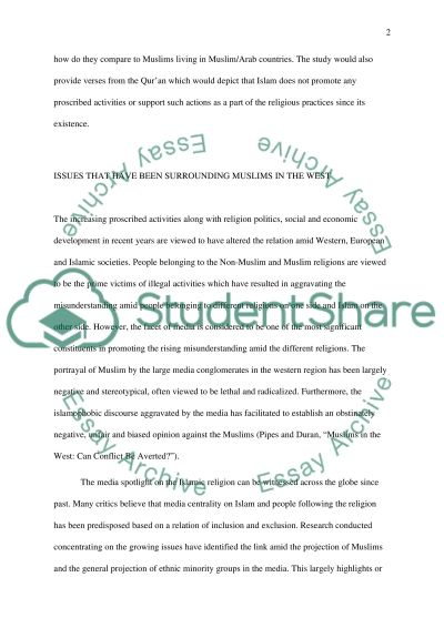 essay about islam Essay example