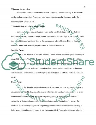 Financial Analysis of a Publicly-Traded Company essay example