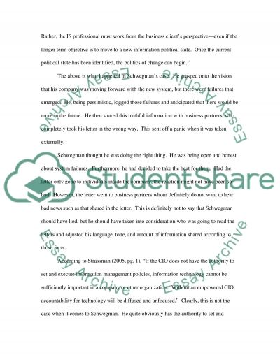 Information Systems in Business and Organizations essay example