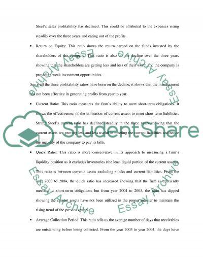 Strang Steel essay example