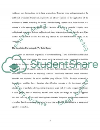 Business finance-2 essay example
