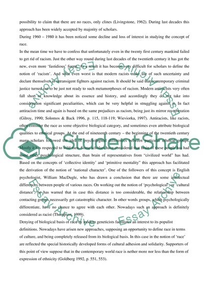Race and ethnicity College Essay