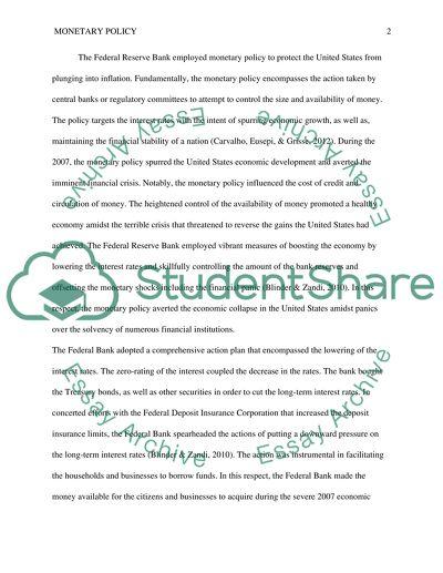 Macroeconomics economics essay Example   Topics and Well Written ...