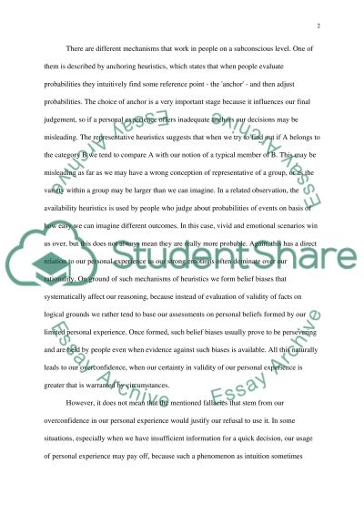 Thinking, Language, Intelligence in Psychology essay example