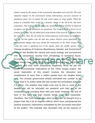 Sustainability in civil engineering Essay example