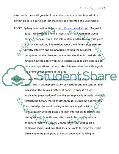 Sociology Project Summary and Annotated Bibliography