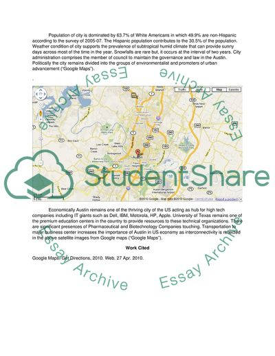 The Google Maps Road Rally Essay Example | Topics and Well Written ...
