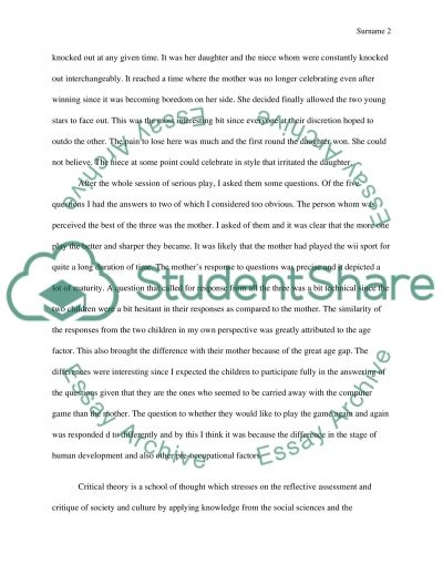 Our Interactions With Media essay example
