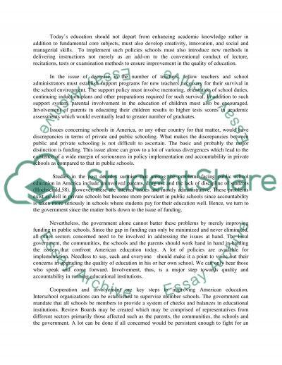 Onee essay example