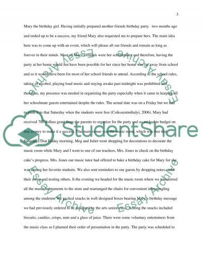 Personal Creativity Essay essay example