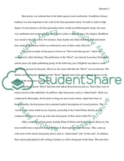 Dissertation poetry