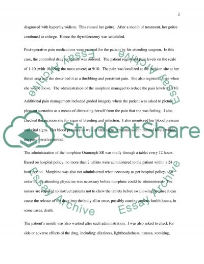 Reflective report essay example