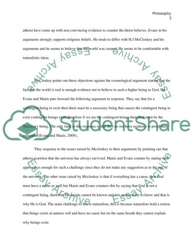 Response Paper to McCloskeys article essay example