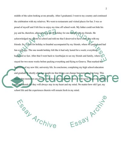 Revise and edit the essay