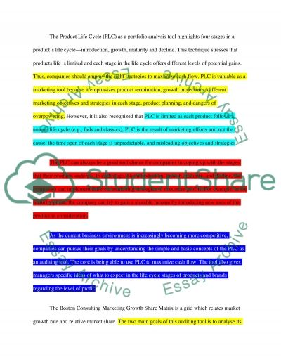 Strategic Marketing Management Essay example