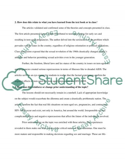 Thought paper essay example