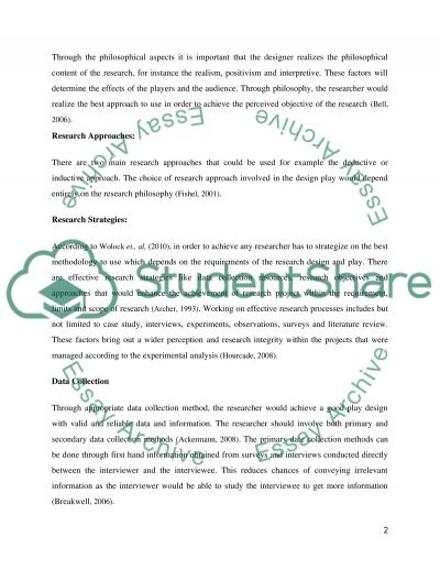 EVALUATION OF PLAY IN DESIGN FOR BEHAVIORAL CHANGE Essay example