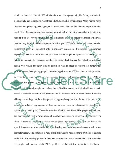 Role of ICT in the Education System essay example