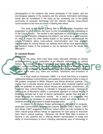 A Study Of Using Cultura Project In Selected Universities In Saudi Arabia And Australia