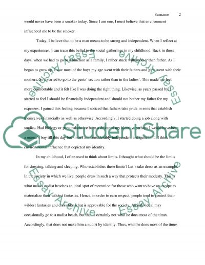 Drivers of identity essay example